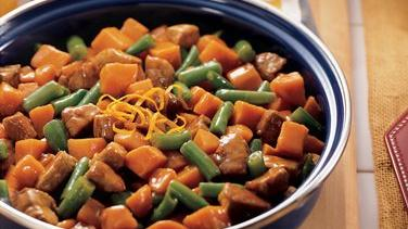 Teriyaki Pork and Sweet Potatoes