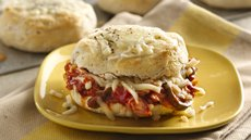 Southwest Chicken Biscuit Sandwiches Recipe