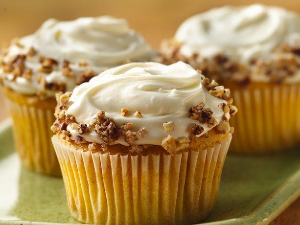 De calabaza con especias Cupcakes