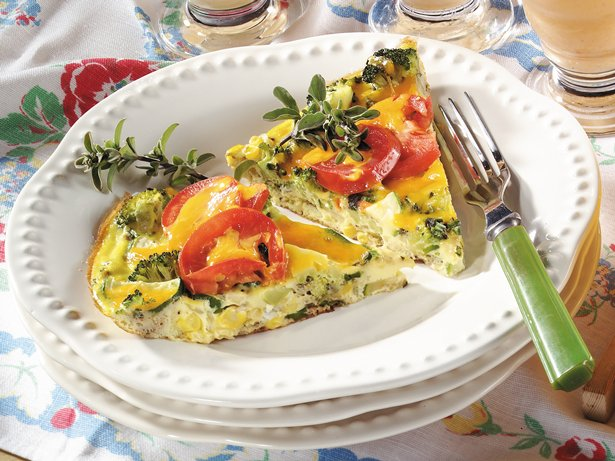 Garden Veggie Frittata