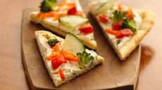 Easy Crescent Veggie Pizza Recipe