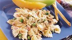 Creamy Feta, Bow Ties and Tuna Greek Salad Recipe