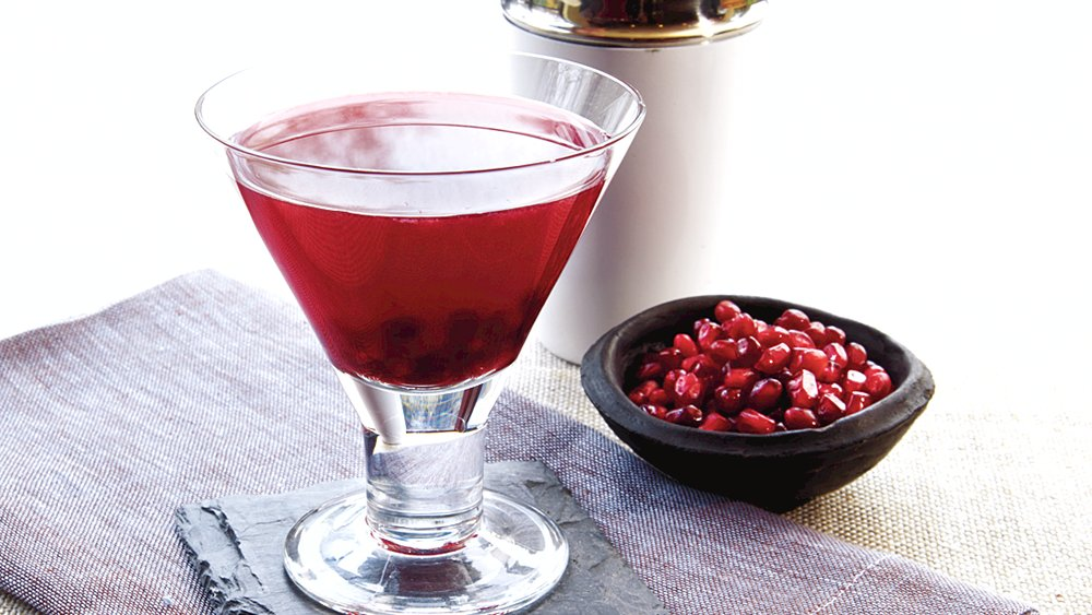 Bloody Pomegranate Cosmos recipe from Pillsbury.com