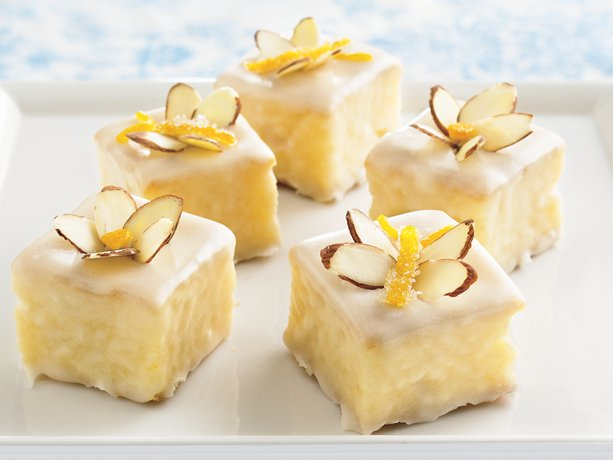 Image of Apricot Petits Fours, Betty Crocker