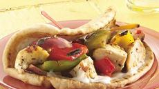 Greek Kabob Sandwiches Recipe