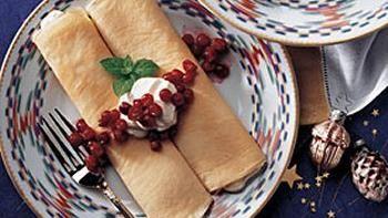 Cardamom Cream Crepes