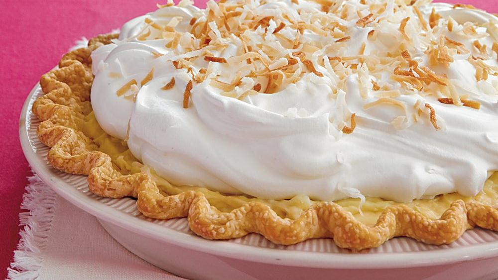 Coconut Cream Pie recipe from Pillsbury.com