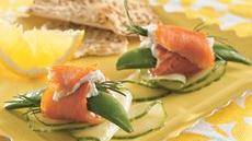 Smoked Salmon Wraps Recipe