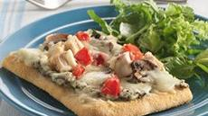 Chicken and Spinach Dip Pizza Recipe