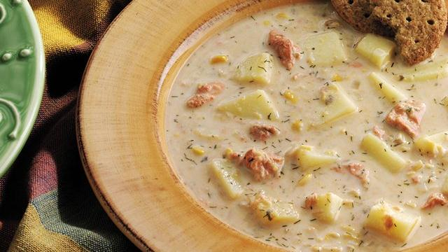 Salmon-Corn Chowder