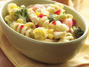Creamy Garlic Pasta Primavera