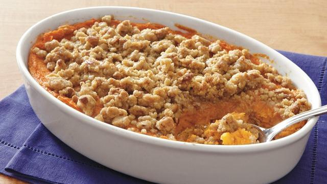 Praline-Topped Sweet Potatoes