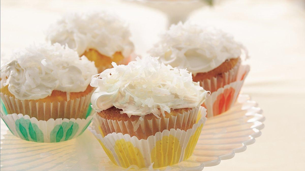 pina colada cupcakes pineapple coconut and rum create a tropical ...