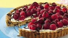 Raspberry Cookie Tart Recipe