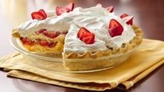 Slammin Strawberry Shortcake Pie Recipe