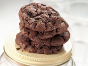 Mocha-Toffee Chocolate Cookies