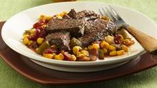Cajun Pot Roast with Maque Choux (Cooking for Two) Recipe