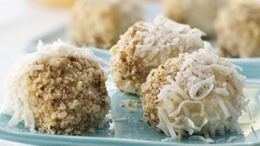 Coconut-Almond Doughnut Pop-ems