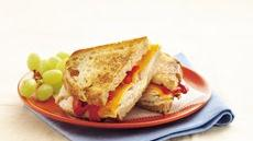 Toasted Turkey and Roasted Pepper Sandwiches Recipe