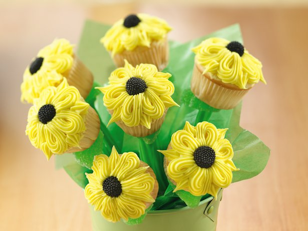 Sunflower Cupcakes Bouquet