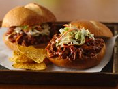Slow Cooker Pulled Jerk Pork Sandwiches