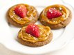 Strawberry-Salted Caramel-Molasses Cookies