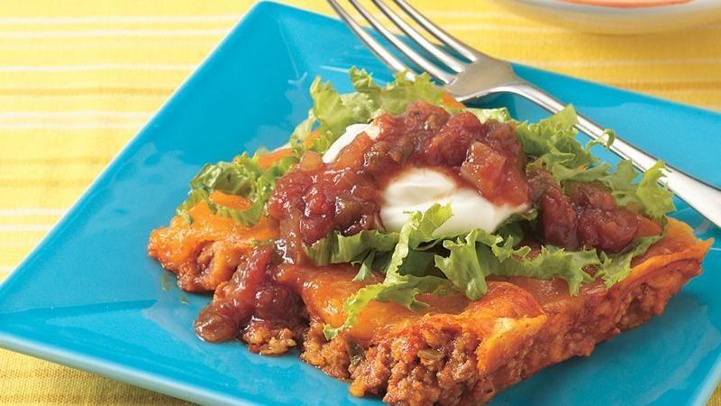 Fiesta Enchilada Bake