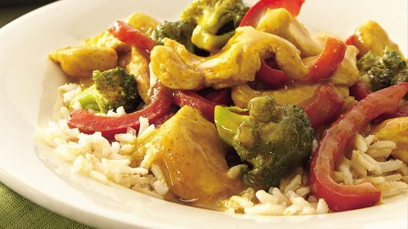 Curried Turkey Stir-Fry