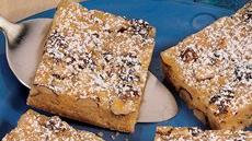 Orangeburst Cookie Bars Recipe