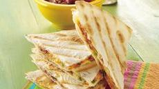 Quick Grilled Quesadilla Recipe
