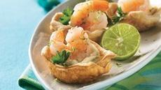 Spicy Shrimp Cups Recipe