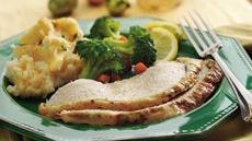 Garlic and Lemon Roasted Turkey Breast Recipe