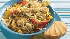 Lemony Leeks and Pasta Salad Recipe