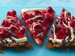 Cherry Cream Pizza with Tuxedo Topping