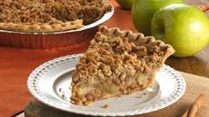 Cinnamon-Raisin Apple Crisp Pie Recipe