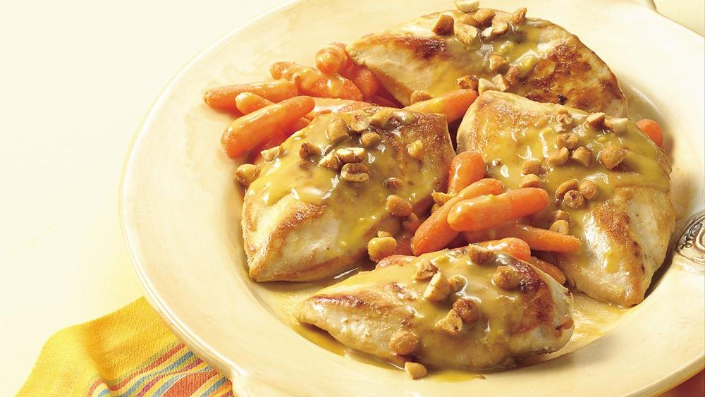 Honey-Mustard Chicken and Carrots