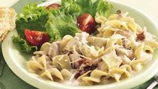 Slow Cooker Chicken and Noodles Alfredo Recipe