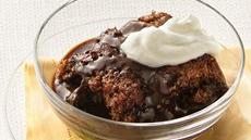 Chocolate-Hazelnut Pudding Cake Recipe