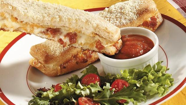 Pull-Apart Pizza Breadsticks