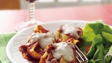 Sausage-Stuffed Pasta Shells Recipe