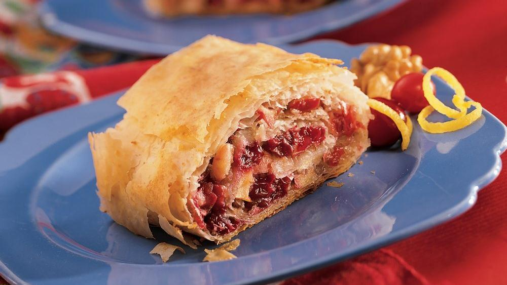 Apple-Cranberry Strudel recipe from Pillsbury.com