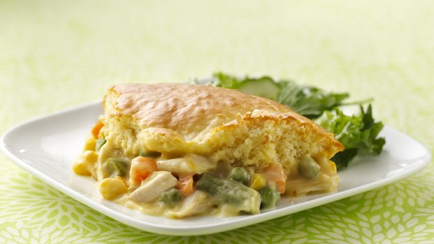 Impossibly Easy Chicken Pot Pie recipe from BoxTops4Education