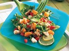 Asian Chicken Salad with Lime Dressing