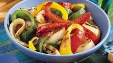 Grilled Mixed Peppers Recipe