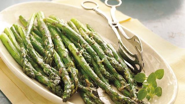 Roasted Parmesan Asparagus