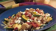 Mediterranean Meatball Supper Skillet Recipe