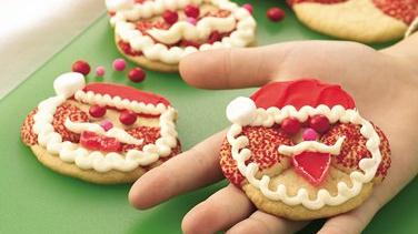 Santa Claus Sugar Cookies
