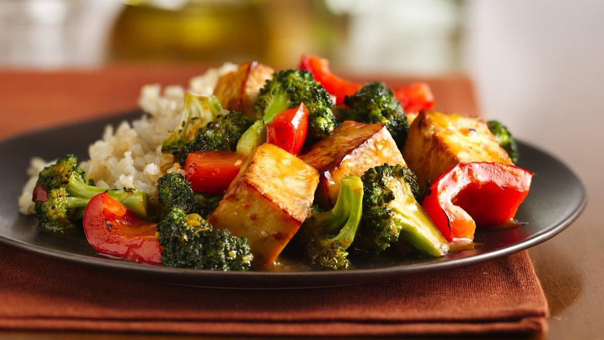 fried sesame tofu stir fry recipe asian stir fry try this tofu and let ...