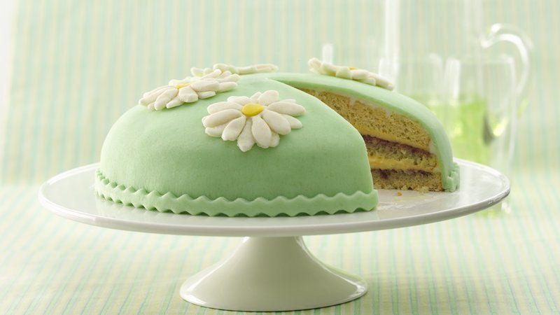 Marzipan Princess Cake
