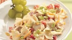 Spicy Chicken and Bow Tie Pasta Salad Recipe